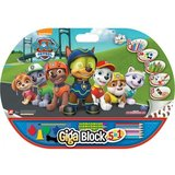 Set creativ Patrula Catelusilor Giga Block 5 in 1